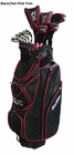 Tour Edge Golf- Ladies Moda Silk Complete Set With Bag Graphite
