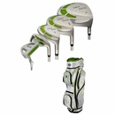 Tour Edge Golf- Lady Edge Complete Set With Bag Graphite