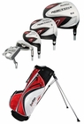 Tour Edge Golf- Reaction 2 Complete Set With Bag Graph/Steel