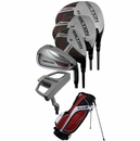 Tour Edge Golf- Reaction Complete Set With Bag Graph/Steel
