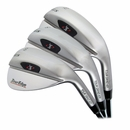 Tour Edge Golf- T.G.S. Stainless 3-Wedge Set
