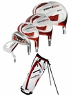 Tour Edge Golf- Tour Zone Complete Set With Bag Graph/Steel