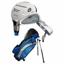 U.S. Kids Golf- LH Ultralite Series 5 Club Set With Bag (Medium Left Handed)
