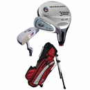 U.S. Kids Golf- Ultralite Series 3 Club Set With Bag