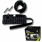 Ultimately Fit- 10lb Adjustable Ankle Weights