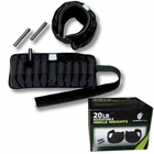 Ultimately Fit- 20lb Adjustable Ankle Weights