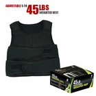 Ultimately Fit- 45lb Micro Adjustable Weighted Vest