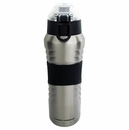 Under Armour Dominate Stainless Steel Vacuum Insulated Hydration Bottle Silver 24oz