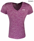 Under Armour Ladies Novelty Tech V-Neck Shirt