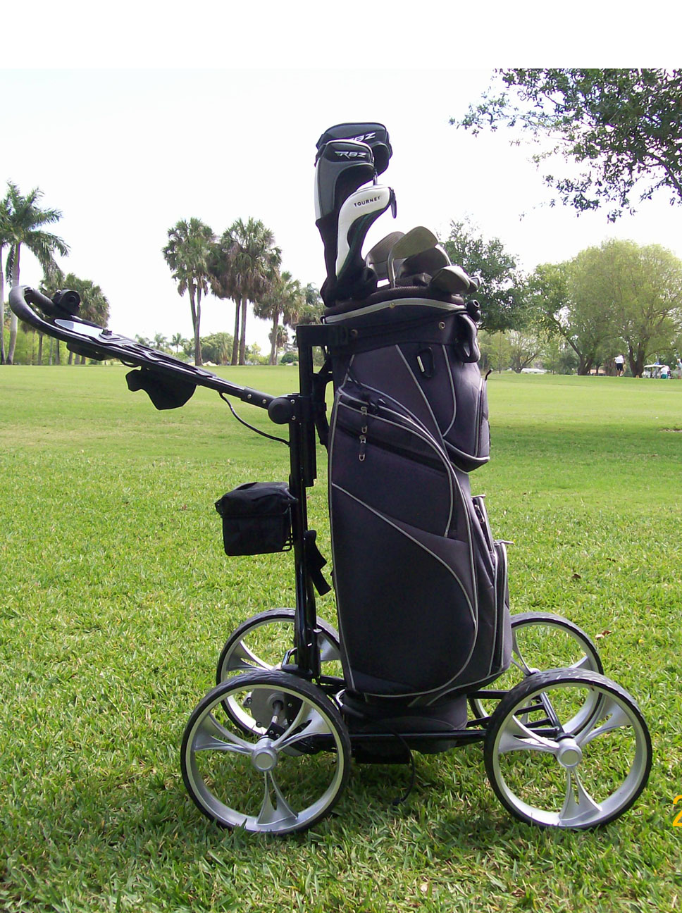 Best Golf Drivers 2014 >> Clever Caddie Motorized Push Cart by Clever Caddie Golf ...