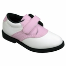 US Kids- Girls Swing-Rite Spikeless Golf Shoes