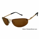 UV3 Golf- Unisex Polarized Sunglasses Brown/Polarized Brown Lens 4431A