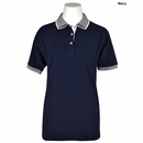 Vantage - Ladies Birdseye Trim Pique Performance Polo