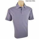 Vantage - Performance Mens Cotton Shoulder Block Pique Polo