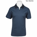 Vantage - Vansport Ladies Honeycomb Jacquard Polo