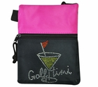 Vegas Golf- Foxyware Ladies Rhinestone Accessory/Tee Bag