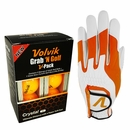 Volvik Golf- MLH Omni FormFit Glove Grab'NGolf Pack (Crystal Golf Balls)
