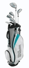 Wilson Golf Girls Profile Junior Set Large Teal Ages 11-14