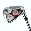 Wilson Golf- LH Staff D200 Irons Graphite (Left Handed)