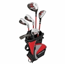 Wilson Golf- Profile Junior Set Red Ages 5-8