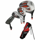 Wilson Golf Profile Junior Set Red Ages 5-8