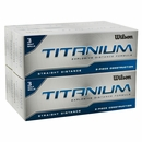 Wilson Golf- Titanium Straight Distance Golf Balls
