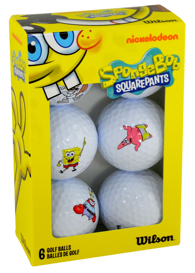 FREE SpongeBob & Friends Golf Balls!