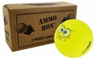 Wilson SpongeBob Mint Used Golf Balls *3-Dozen*