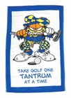 Winning Edge Designs- Garfield With Attitude Golf Towel