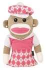 "Winning Edge Designs Golf- Girl Sock Monkey ""Anna Banana"" Head Cover"