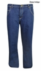 Wrangler- Rugged Wear Advanced Comfort Relaxed Straight Fit Jeans