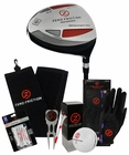Zero Friction Golf- Driver with Accessories Bundle