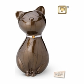 Princess Cat Bronze Urn