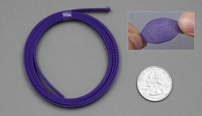 1 Meter Wire Mesh 7mm (Purple)
