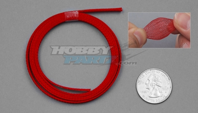 1 Meter Wire Mesh 7mm (Red)