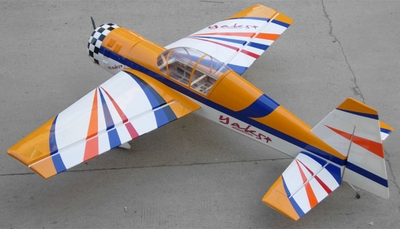 "103"" Giant Scale Yak54 100CC Nitro Remote Control Airplane Kit (White) RC Remote Control Radio"