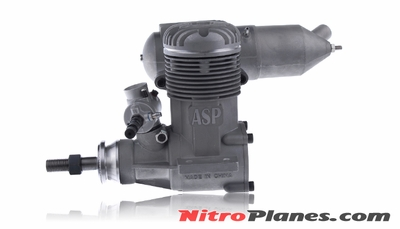 120A ASP 2-stroke Engine for Nitro RC Planes
