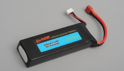 14.8V 2600MAH 25C Lipo battery 60P-DY-6014