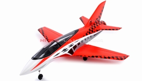 2.4G 64mm Concept X Super Performance Brushless Ducted Fan RC Jet RTF (Red)