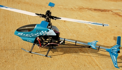 2.4G Esky Honey Bee V3 RTF Brushless Remote Control Helicopter w/ Professional Head-Lock Gyro [Blue Model#E512]