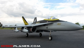 """2.4G Extreme Detail 4-Channel AirField RC USAF Air Force F18C 670mm (26.4"""") Radio Control EDF Jet w/ Brushless Motor/ESC/Lipo 100% RTF *Super Scale* Ducted Fan RC Jet (Grey)"""