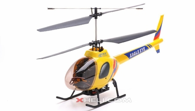 2.4Ghz Art Tech Eagle Eye 4 Channel RC Co-Axial Helicopter RC Remote Control Radio