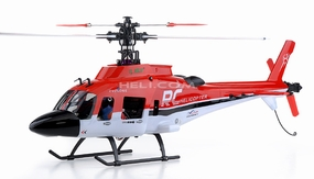 2.4GHz Belt-CP-CX450 Electric RC Helicopter 100% RTF (Red) RC Remote Control Radio