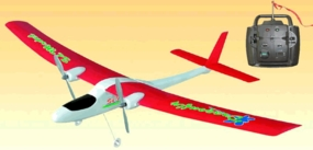 2-Channel SD DragonFly RTF Electric Radio Remote Controlled RC Airplane 3383_AirRed