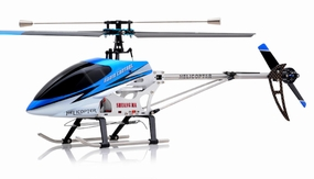 "26"" Double Horse 9104 Helicopter 3 channel Single Rotor RC Helicopter RTF Ready to Fly (Blue) RC Remote Control Radio"