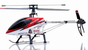 "26"" Double Horse 9104 Helicopter 3 channel Single Rotor RC Helicopter RTF Ready to Fly (Red)"