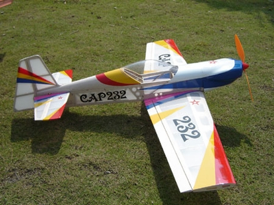 3-Channel 3D ARF Balsa Electric Brushless Powered Cap 232 Plane