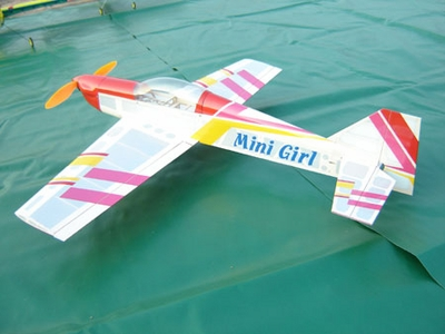 3-Channel Mini Girl Brushless Electric Radio Remote Controlled RC Airplane Kit