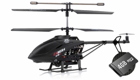 3-Channel RC Helicopter UDI U13A 2.4Ghz w/ Video Camera with 4GB SD card RC Remote Control Radio