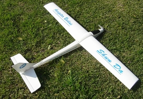 3-Channel Slope Diver RTF Radio Remote Controlled RC Electric Airplane 3380-2W_AccipiterBadiusWhite